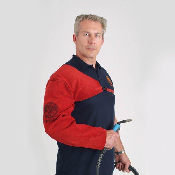 Tusker Full length welding sleeve stud str ap and buckle