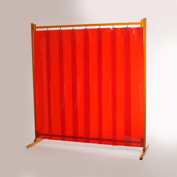 HD series welding frame with strip curtain