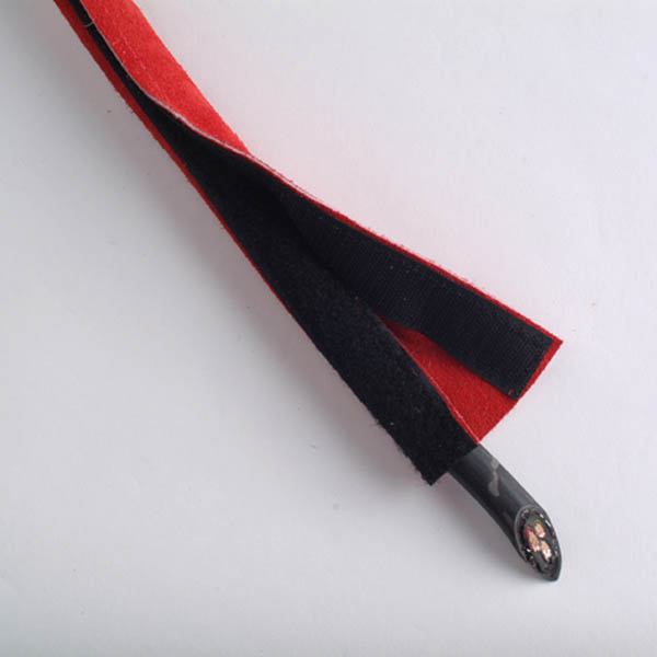 Leather welding cable sleeve