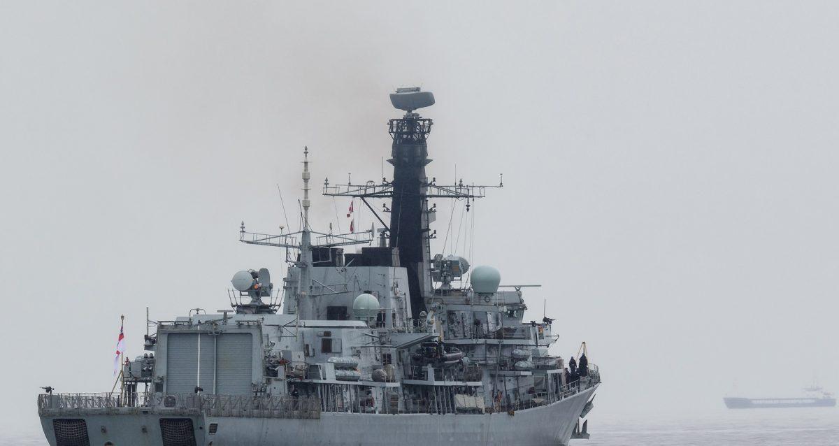 British Frigate