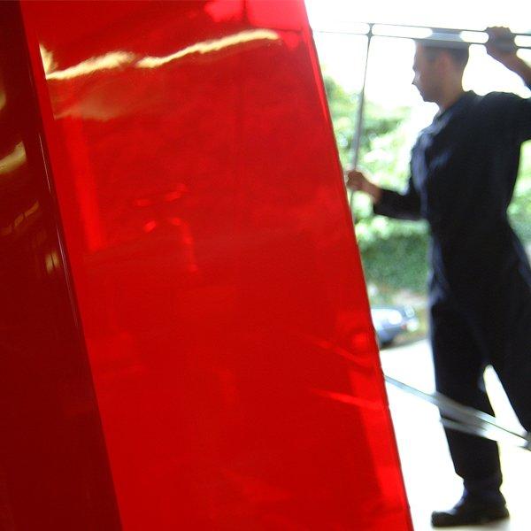 Welding curtain and strip curtain