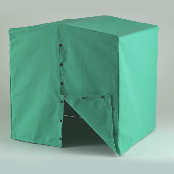 Fire retardant work shelter