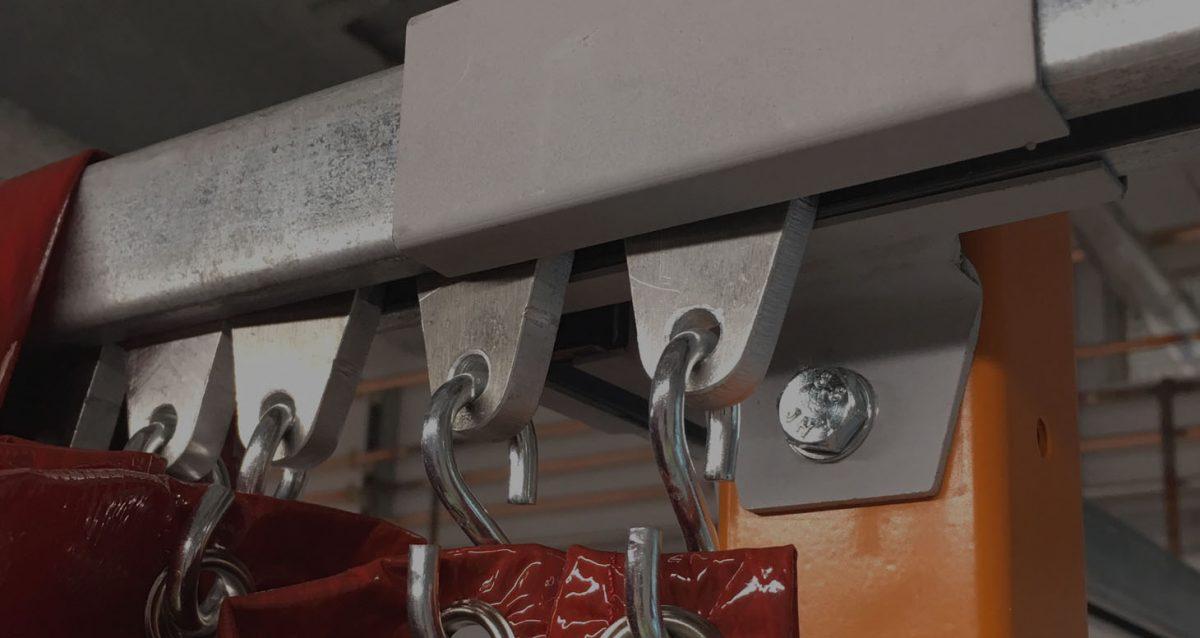 Welding bay detail